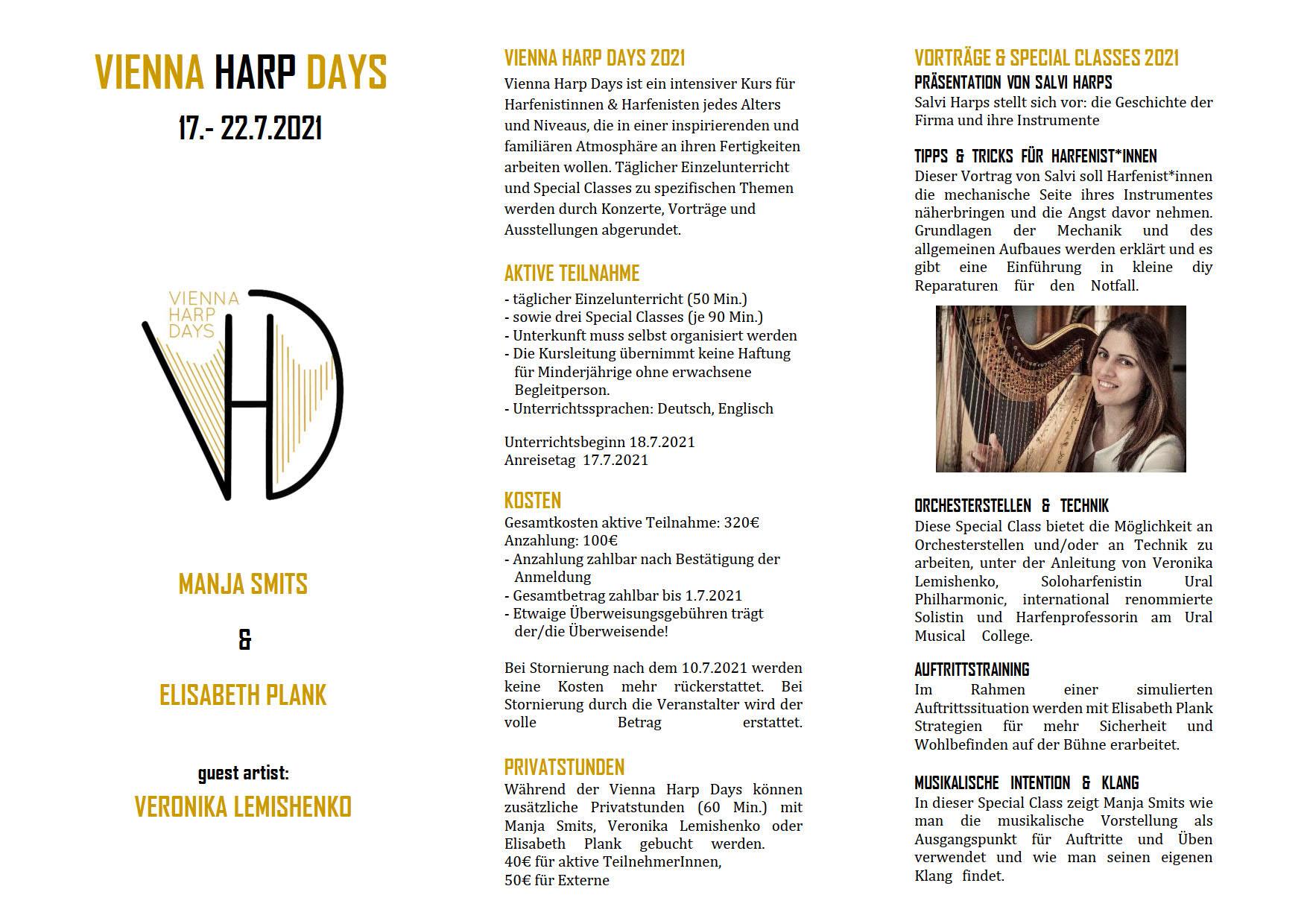 Vienna Harp Days 2021 D 1
