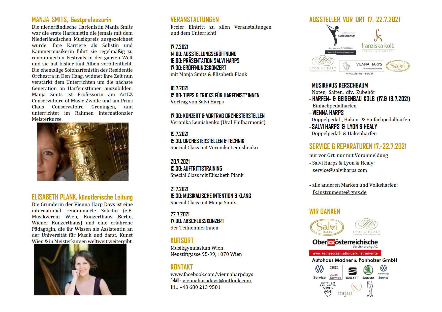 Vienna Harp Days 2021 D 2